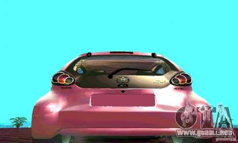 Toyota Aygo V1.0 para la visión correcta GTA San Andreas
