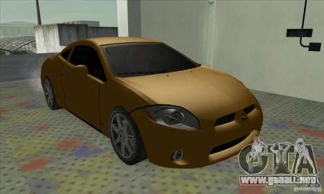 Mitsubishi Eclipse GT para GTA San Andreas vista posterior izquierda