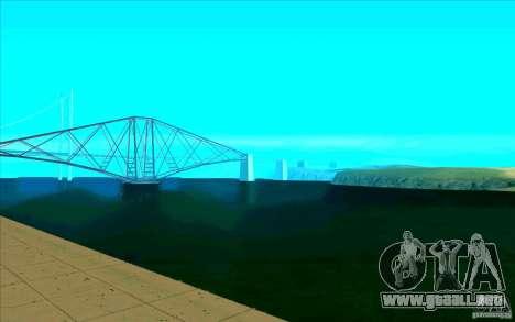 Enbseries cualitativa para GTA San Andreas tercera pantalla