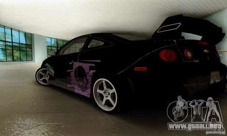 Chevrolet Cobalt SS para la vista superior GTA San Andreas