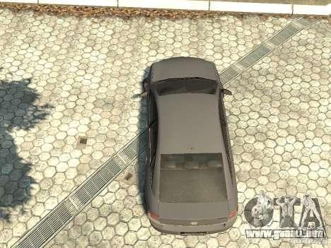 Opel Vectra para GTA 4 vista hacia atrás