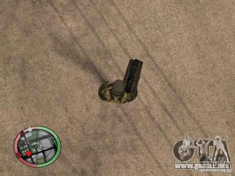 Armas exóticas de Crysis 2 v2 para GTA San Andreas quinta pantalla