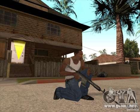 CoD:MW2 weapon pack para GTA San Andreas décimo de pantalla