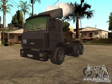 Camión MAZ 5336 para GTA San Andreas