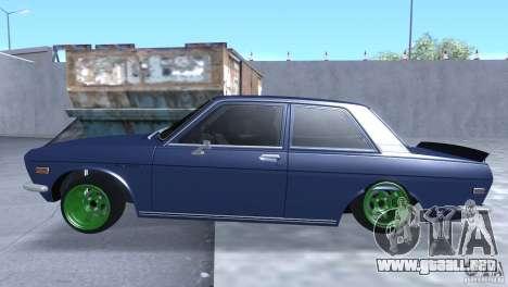 Datsun 510 Drift para GTA San Andreas left