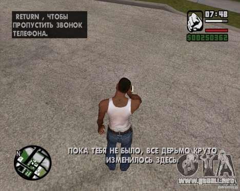 NES para GTA San Andreas tercera pantalla