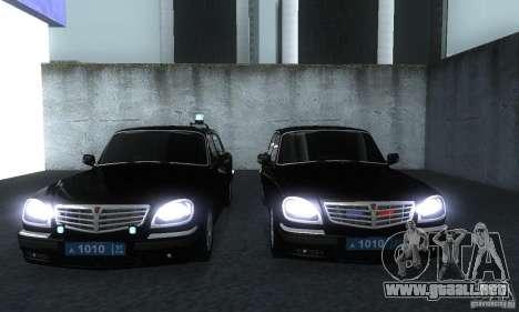 GAZ 31105 Volga abogado para GTA San Andreas