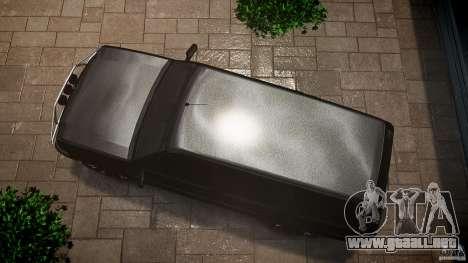 Cavalcade FBI car para GTA 4 visión correcta