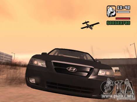 Hyundai Sonata Edit para GTA San Andreas