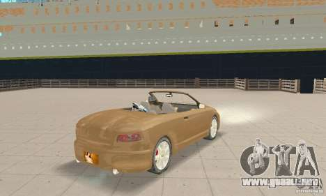 Chrysler Cabrio para GTA San Andreas left