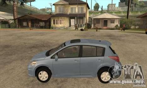 Nissan Tiida para GTA San Andreas left
