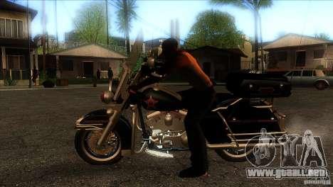 Harley Davidson para GTA San Andreas left