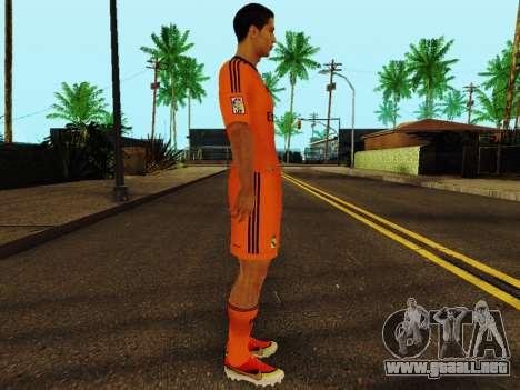Cristiano Ronaldo v3 para GTA San Andreas segunda pantalla