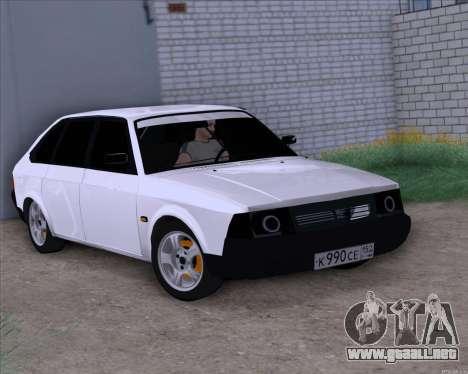 Moskvich 2141 para la visión correcta GTA San Andreas