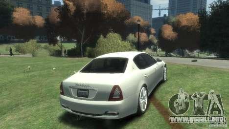 Maserati Quattroporte para GTA 4 visión correcta