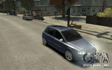 Fiat Stilo Sporting 2009 para GTA 4 vista hacia atrás