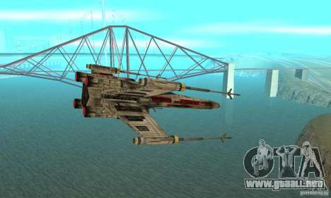 X-WING de Star Wars v1 para GTA San Andreas