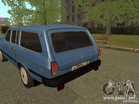 Volga GAZ 31022 para la visión correcta GTA San Andreas