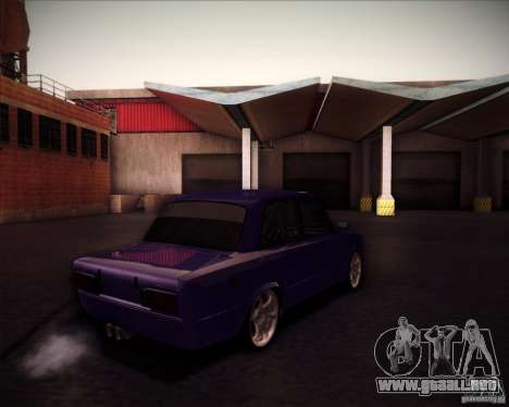 2106 VAZ deriva para GTA San Andreas vista hacia atrás