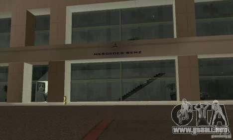 Mercedes Showroom v.1.0 (Autocentre) para GTA San Andreas