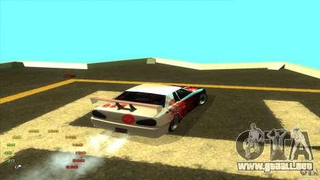 Paquete de vinilo para Elegy para GTA San Andreas sexta pantalla