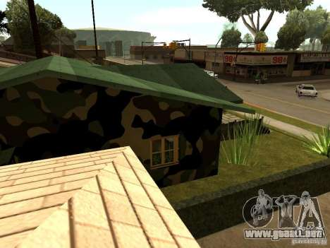 Casa nueva de Denis para GTA San Andreas sucesivamente de pantalla