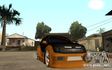 Dacia Duster Tuning v1 para GTA San Andreas vista hacia atrás