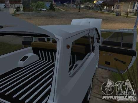 GAZ 24-02 para la visión correcta GTA San Andreas