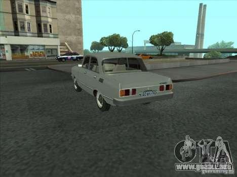 Moskvich 2140 SL para GTA San Andreas vista posterior izquierda