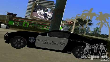 Saleen S281 Barricade 2007 para GTA Vice City vista posterior