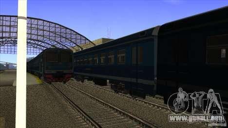 Un nuevo algoritmo de tren 5 para GTA San Andreas segunda pantalla