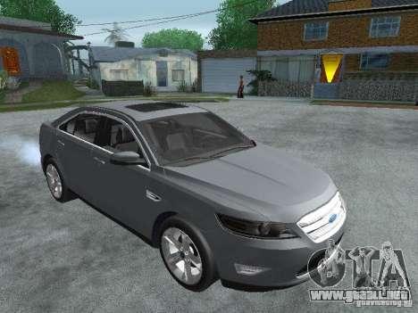 Ford Taurus para la visión correcta GTA San Andreas