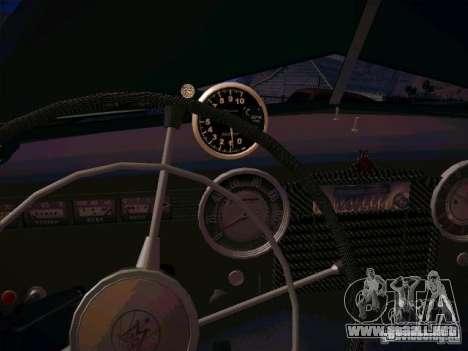 GAZ m 20 ganador 1956 para visión interna GTA San Andreas