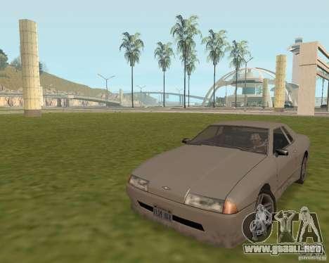 Salida de emergencia coche para GTA San Andreas segunda pantalla