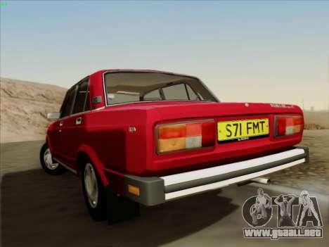 Lada 2105 RIVA (exportación) 2.0 para la visión correcta GTA San Andreas