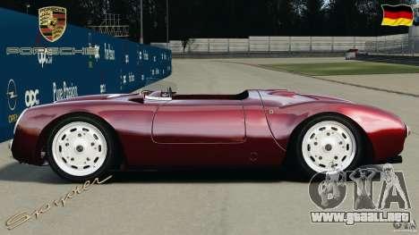 Porsche 550 A Spyder 1956 v1.0 para GTA 4 left