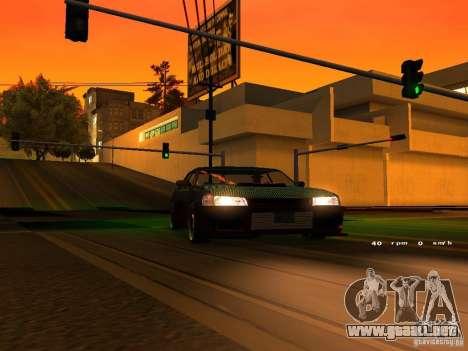 New Sultan para visión interna GTA San Andreas