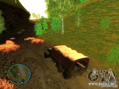 Millitary Truck from Mafia II para GTA San Andreas left