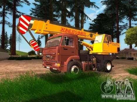 KAMAZ 6520 KS3577-3 k Ivanovets para GTA San Andreas