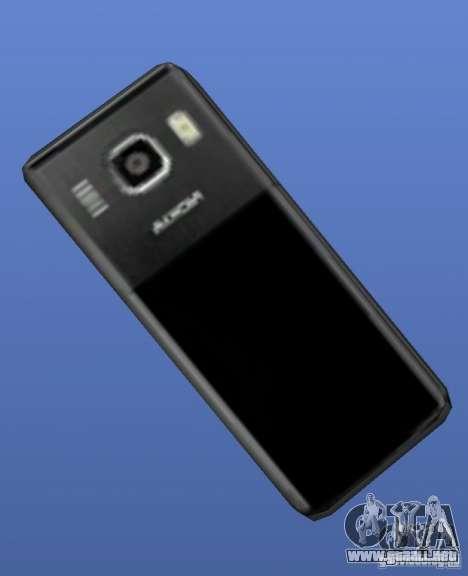 Teléfono móvil Nokia 6500 para GTA 4 segundos de pantalla