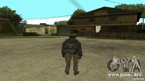 Captain Price para GTA San Andreas tercera pantalla
