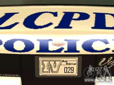 La policía de GTA4 para GTA San Andreas interior
