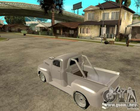 Ford F1 Pickup Hotrod 49 para GTA San Andreas left