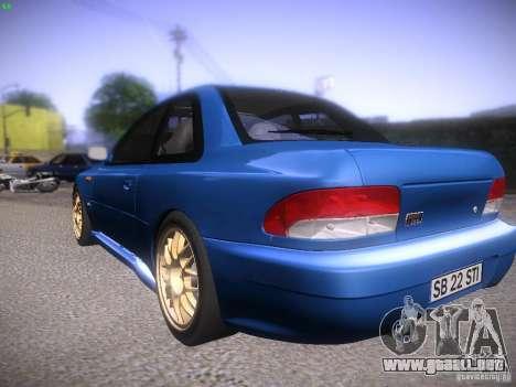 Subaru Impreza 22b Tunable para la visión correcta GTA San Andreas