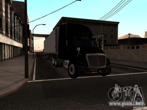 International Prostar para GTA San Andreas vista posterior izquierda