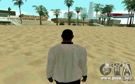 Jamaicana piel HD para GTA San Andreas sucesivamente de pantalla
