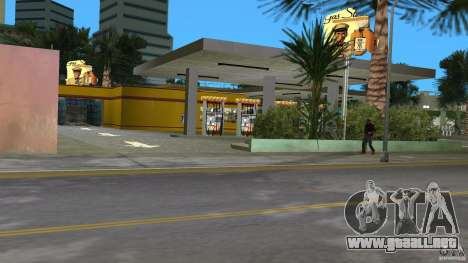 Shell Station para GTA Vice City quinta pantalla