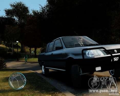 FSO Polonez Analog 4wd para GTA 4 Vista posterior izquierda