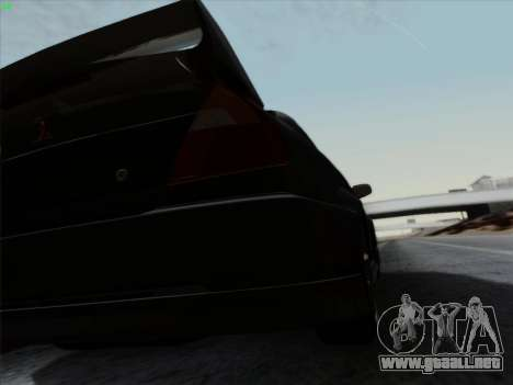 Mitsubishi Lancer Evolution VI para la vista superior GTA San Andreas
