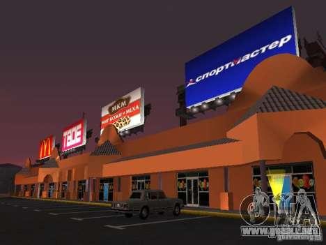 Tienda rusa en Las Venturase para GTA San Andreas sucesivamente de pantalla